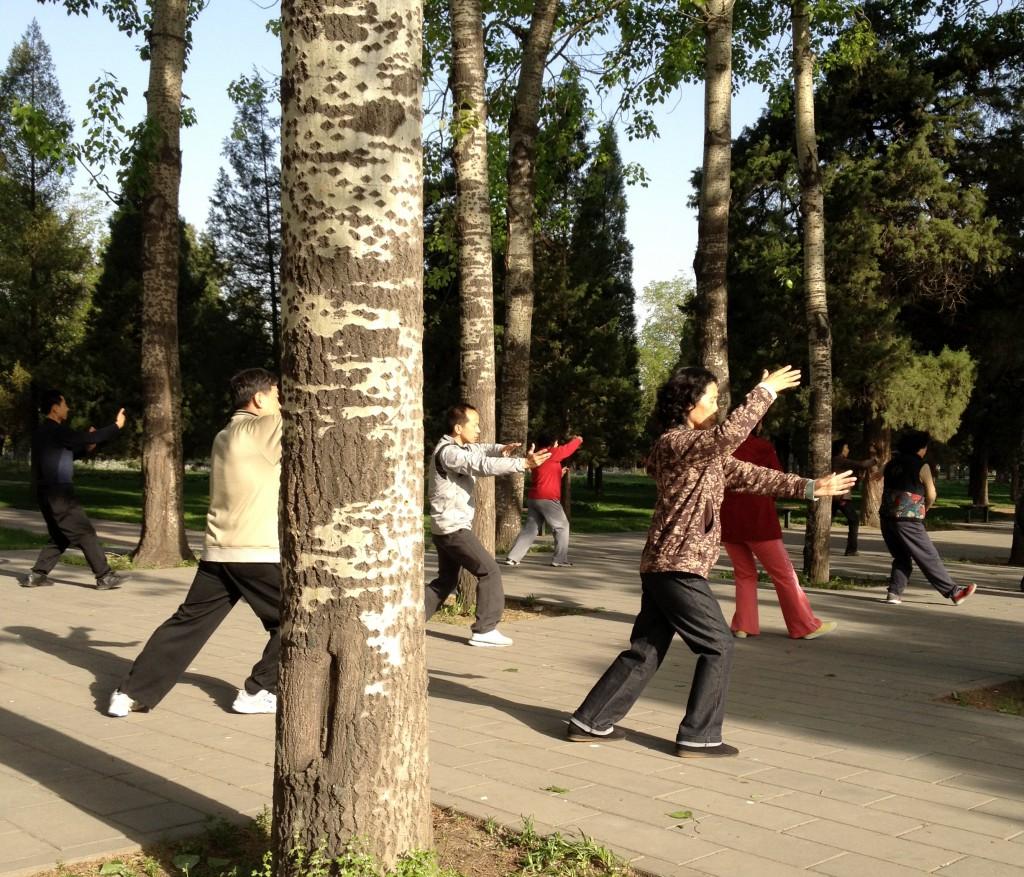 Tai Chi in Park Beijing
