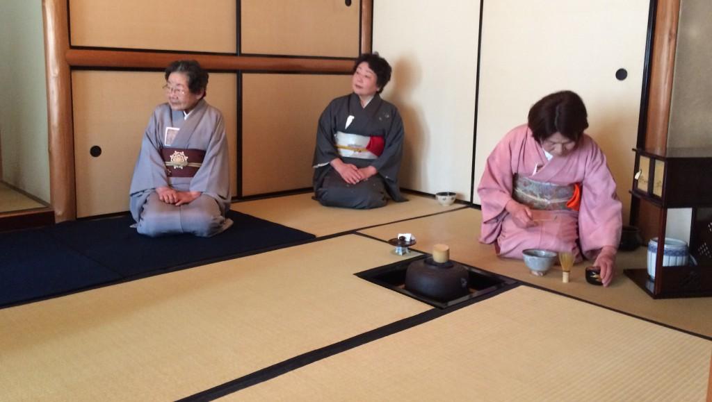 Shokado Garden - Tea Ceremony Hosts