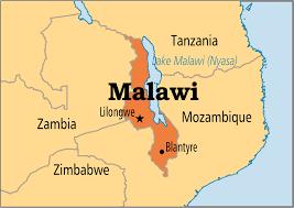 Landlocked Malawi